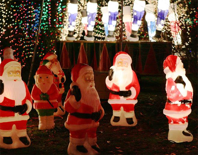 크리스마스 분위기로 들썩이는 밴쿠버