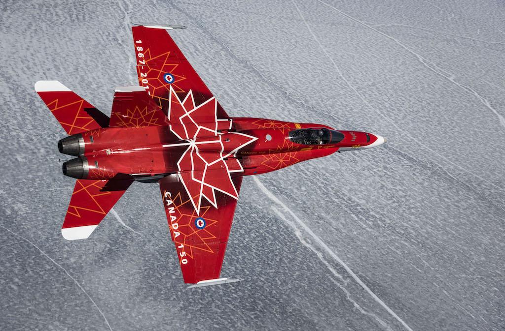 캐나다 150주년 기념 행사 하늘에 나타날 곡예 비행팀