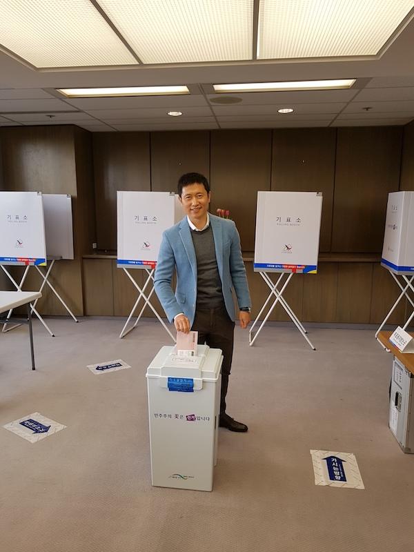 한국 미래를 결정하는 재외국민 대선 투표 시작