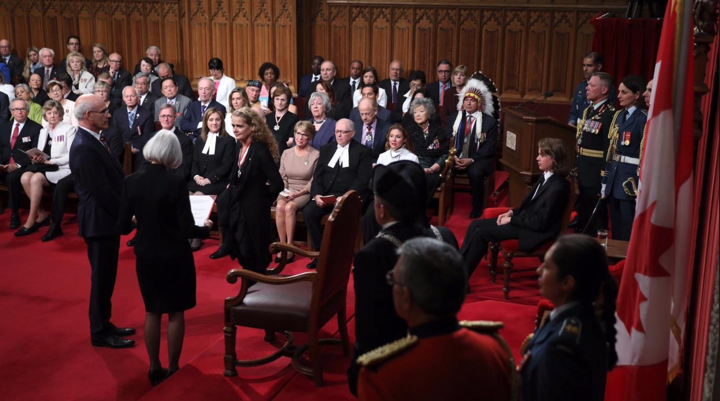 29번째 연방 총독에 줄리 파예트(Payette)임명