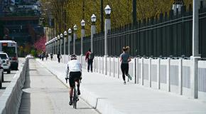 밴쿠버 명물 버라드 다리 보수공사 완료