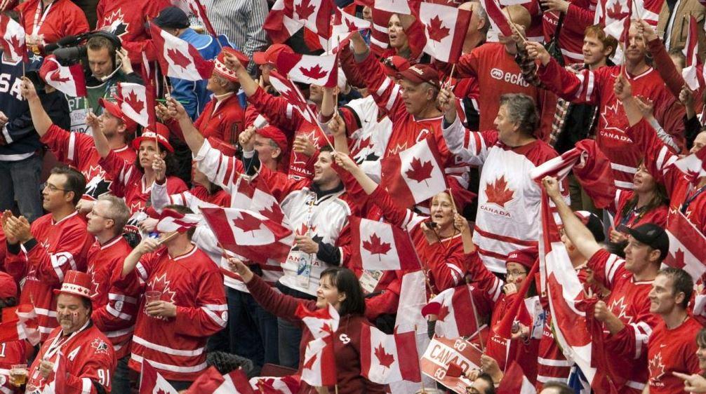 Go Canada! 캐나다 대표팀을 응원하는 캐나다팀 응원단