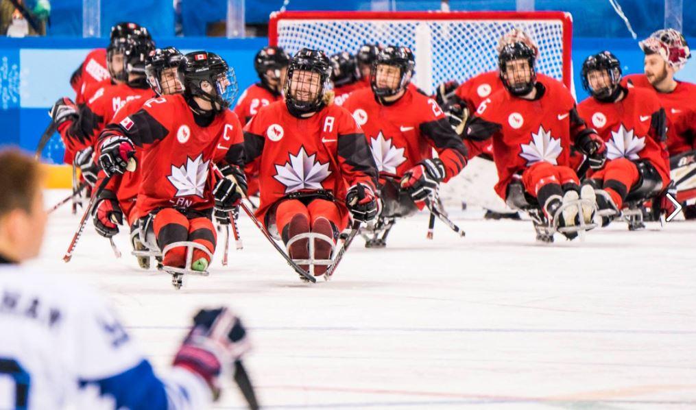 2018평창패럴림픽 캐나다vs미국 아이스하키 결승  리턴매치