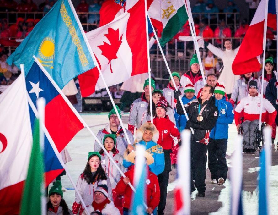 2018평창패럴림픽 폐막, 캐나다 종합 3위