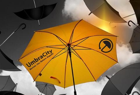 밴쿠버 우기철, 우산 빌려쓰세요