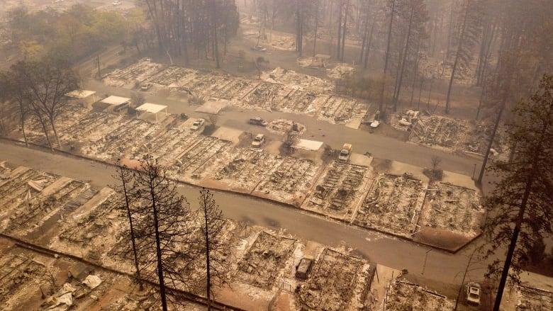 캘리포니아 대형산불, BC주 대기에 영향