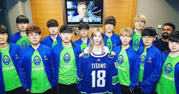 밴쿠버 캐넉스, 한국인 E-스포츠 팀 창단