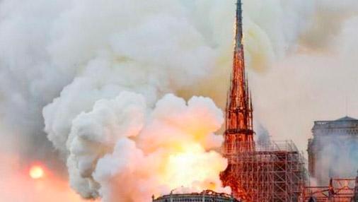 하루 3만명 찾던 파리 노트르담 대성당 화재