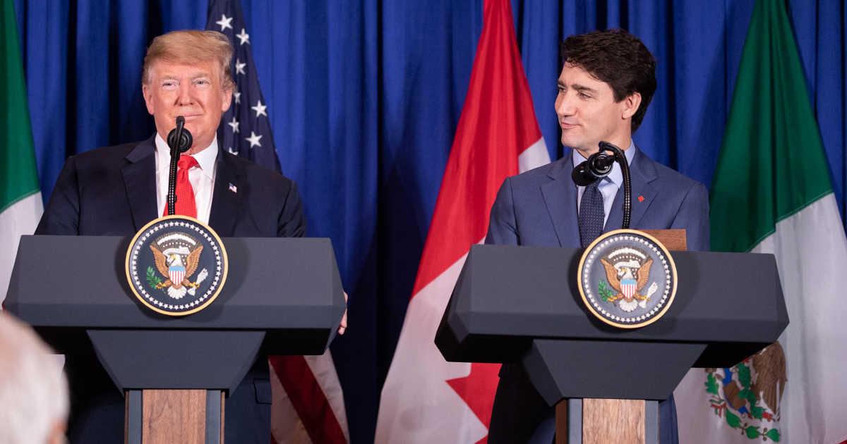 트럼프, 캐나다-중국 외교 갈등에