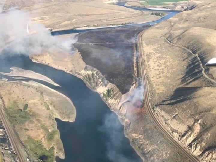 BC주 산불, 작년보다 올해 큰 폭으로 줄어