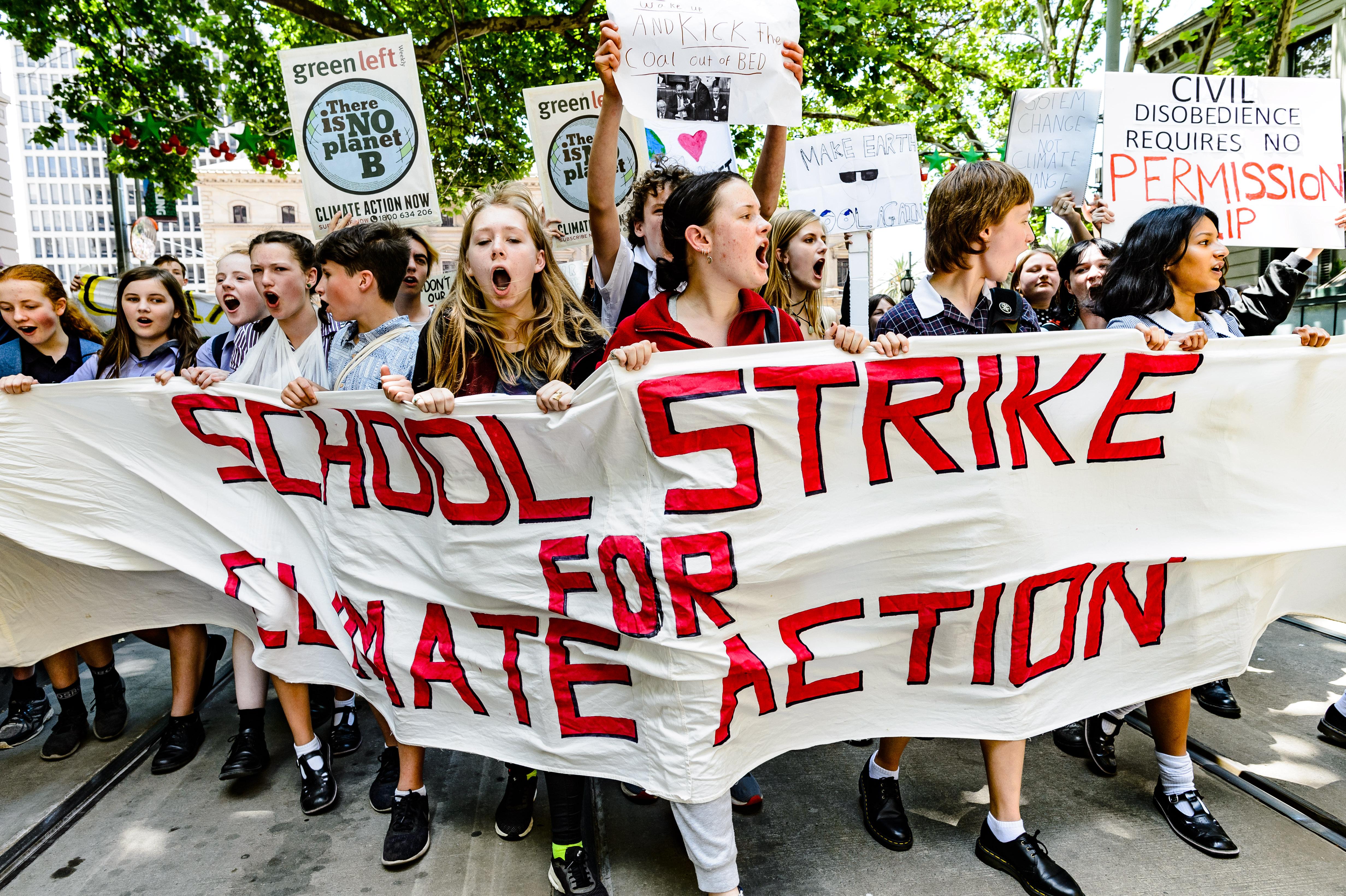 밴쿠버 교육청 '국제 기후 파업' 참여 학생 결석 허용