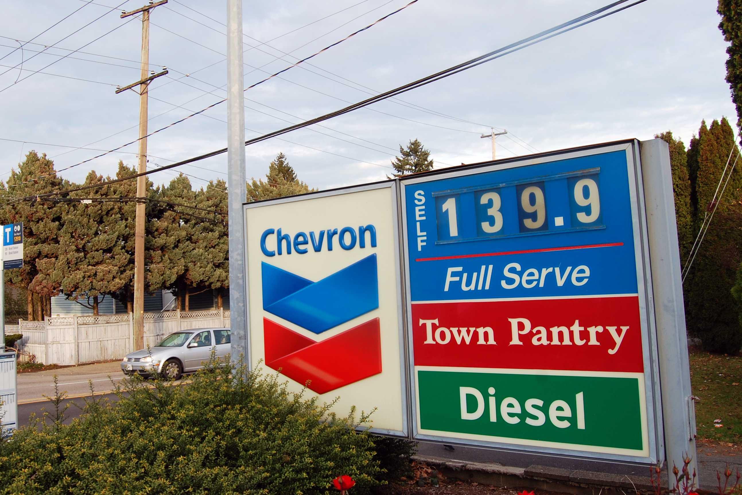 밴쿠버 기름값 큰 폭 하락세