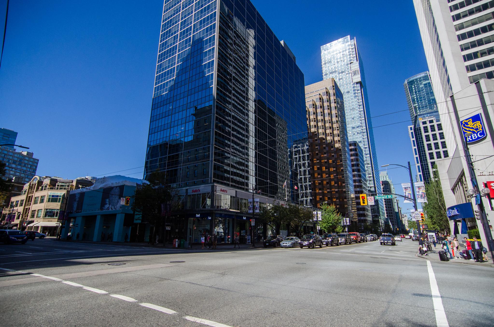 버라드 스트리트, 캐나다에서 두 번째로 비싼 거리