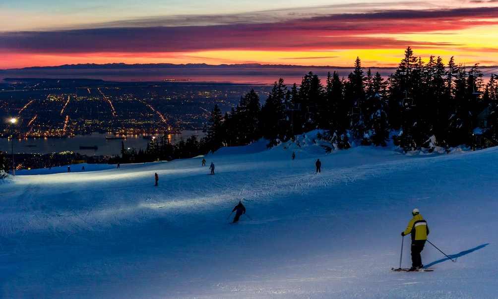 그라우스에서 '밤샘 스키' 즐기자
